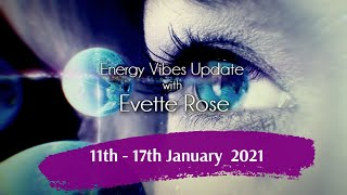 Weekly Energy Vibe Prediction 11 - 17 January 2021