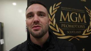 JOSH TAYLOR BRANDS OHARA DAVIES 'SIMPLE' & 'DAFT' - SAYS ANDREA SCARPA PERFORMANCE WAS 'TERRIBLE'