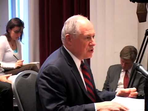 Lt. Governor Quinn before the IL Reform Commission