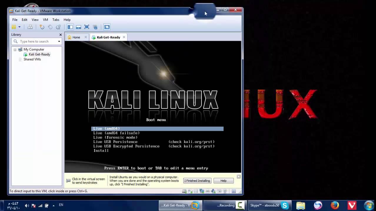 شرح تثبيت كالي لينوكس على (VMware) مع تنصيب الأدوات [شرح كآمل] | Kali LinuX