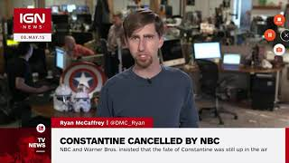 Constantine the TV show gets cancelled by NBC