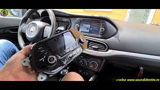 FIAT TIPO ANDROID NAVIGATIE TOUCH WAZE YOUTUBE