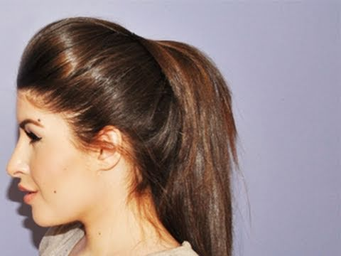Volumized Ponytail Hair Tutorial Missjessicaharlow Youtube