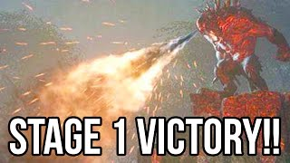 Evolve Gameplay Walkthrough - STAGE 1 MONSTER WIN!! Part 4 Big Alpha (XB1/PS4/PC 1080p HD)