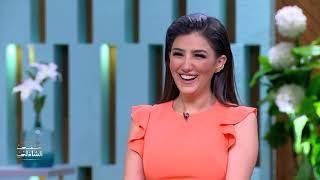 لعبة اللي يلحق.. تحدي مي عمر ومحمد سامي في معكم منى الشاذلي