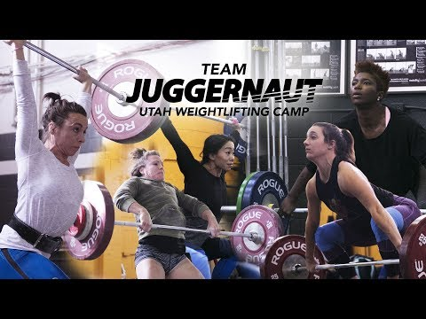 Team Juggernaut Weightlifting | Utah  Training Camp | JTSstrength.com