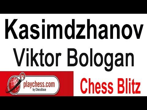 ♚ Rustam Kasimdzhanov vs Viktor Bologan ☆ Chess Blitz on Playchess.com  Part 1 ☆ January 14 2015