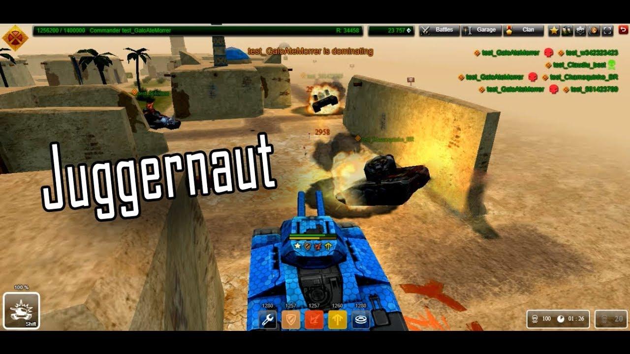 Tanki Online - Juggernaut Mode (Test Server) - YouTube