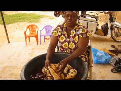 How to make West African mudcloth (bogolan)