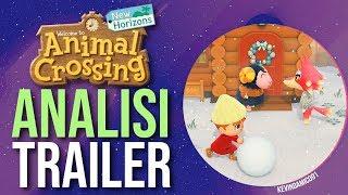 SCOPRIAMO TUTTI i DETTAGLI - Animal Crossing New Horizons   Analisi Trailer Nintendo Switch