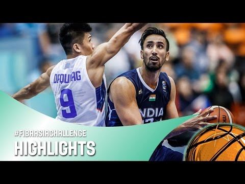 Philippines v India - Highlights - FIBA Asia Challenge 2016