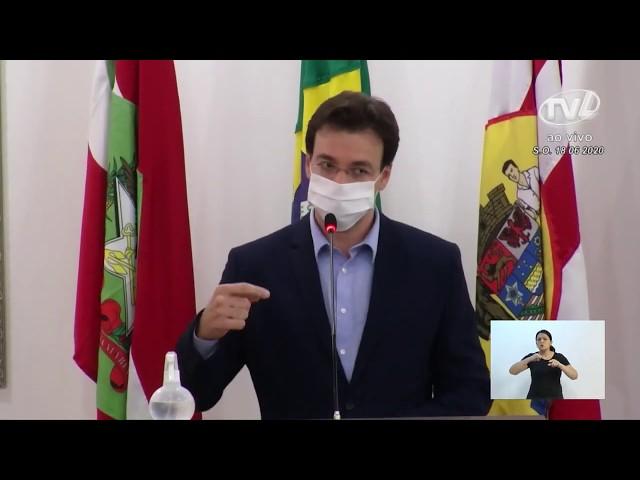 18/06/2020 - Pronunciamento Sessão Ordinária