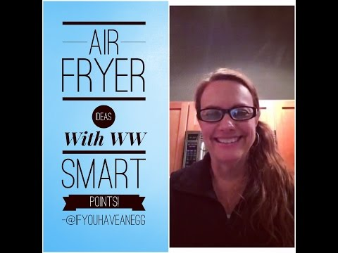 Weight Watchers Air Fryer Chat With Smart Points:  Facebook Live Chat!