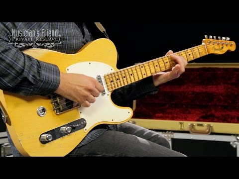 Fender Custom Shop 1957 Telecaster B-Bender Relic Masterbuilt by John Cruz, Honey Blonde