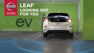 homepage tile video photo for 2019 Nissan LEAF Safety and Driver Assistance Features