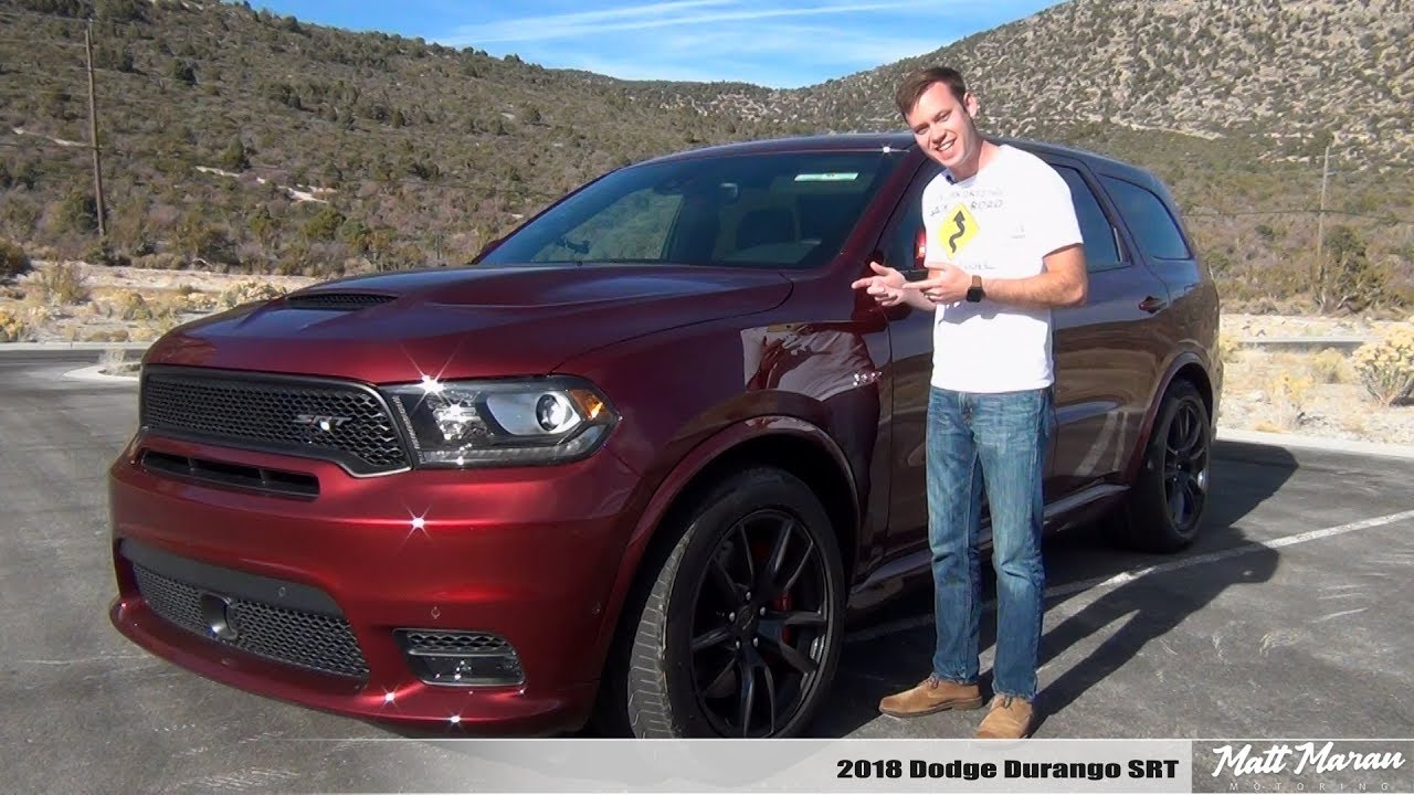Review 2018 Dodge Durango Srt The 3 Row Muscle Suv