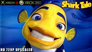 Shark Tale - Gameplay Xbox HD 720P (Xbox to Xbox 360)
