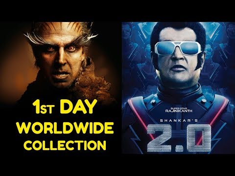 Robo 2.0 1st Day Box Office Collection, Review, Rating, Hit or Flop | Friday Poster