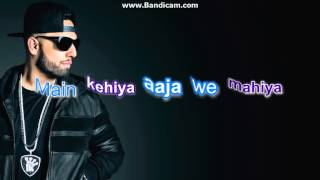 AAJA WE MAHIYA-IMRAN KHAN (LYRICS+MUSIC)
