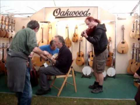 Tim Phillips Violin Maker at Sidmouth 2012