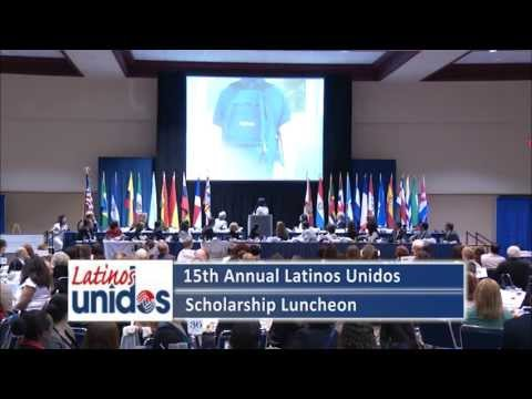 15th Annual Latinos Unidos Scholarship Luncheon - May, 2013