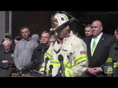 Watertown Fire Department mourn the loss of a firefighter who died in the line of duty