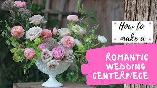 How to make a romantic wedding centerpiece/MIRACLE DESIGN TIME