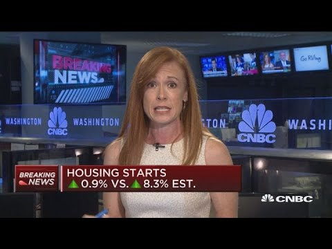Housing starts rise only 0.9% vs 8.3% as a result of higher costs