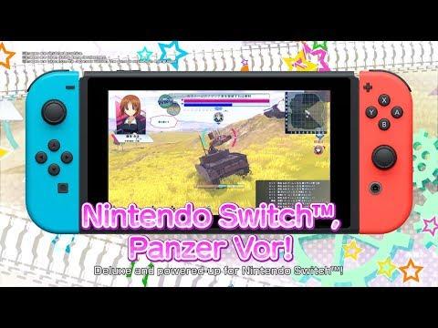 GIRLS und PANZER Dream Tank Match DX for Nintendo Switch™ ANNOUNCEMENT