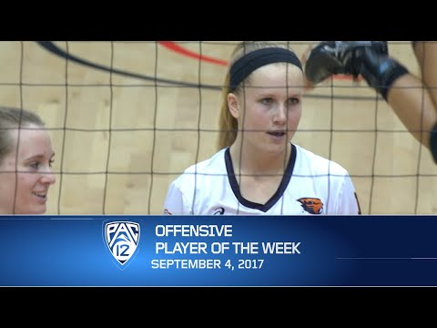 Oregon State's Mary-Kate Marshall named Pac-12 Volleyball Offensive Player of the Week
