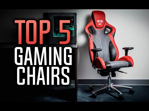 Best Gaming Chairs in 2017!