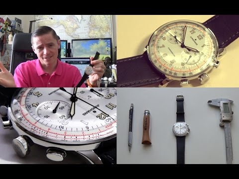 German Perfection - Junghans Meister Telemeter Automatic Watch Review +Glycine Airman Unboxing