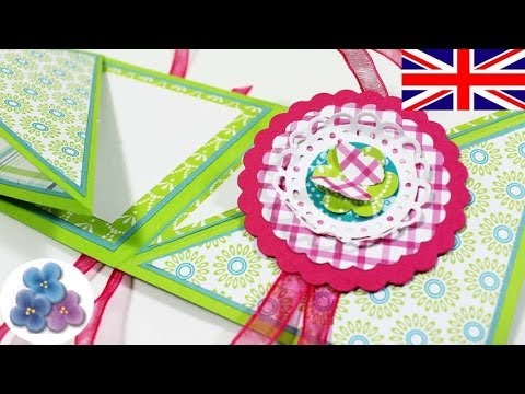 How To Make A Reversible Card Tutorial Greeting Cards Birthday Papercraft Scrapbooking Mathie