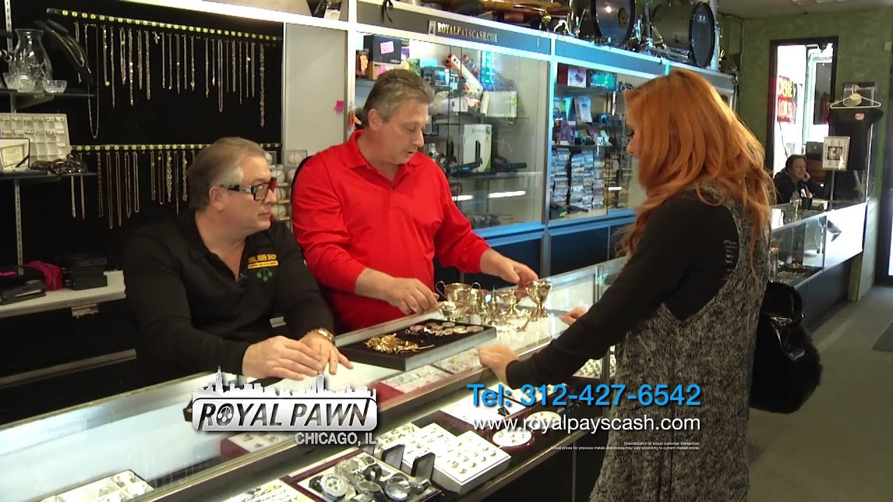 Make Big Money at Royal Pawn by Spring Cleaning Your House!