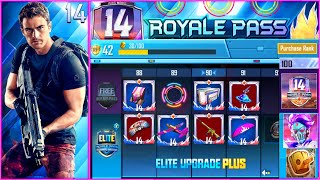 SEASON 14 ROYAL PASS 1 TO 100 RP REWARDS PUBG MOBILE - S14 LEAKS