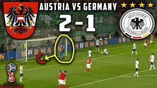 Download Video AUSTRIA || 2 - 1 || GERMANY - Goals and Highlights - FIFA 2018 World Cup Match . MP3 3GP MP4