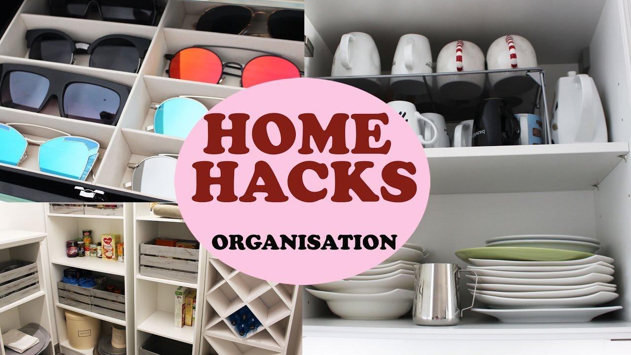 HOME HACKS mit einfachen Tricks Ordnung schaffen