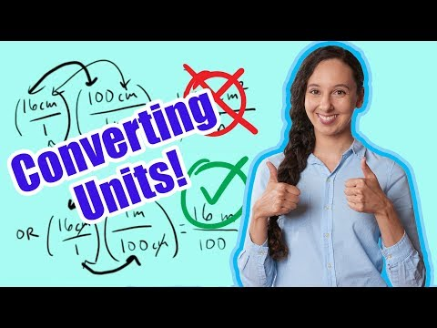 How to Convert Units of Measure! (Explanation & Practice Problems)