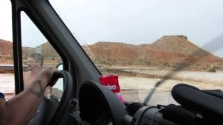 Flash Flood Survival Part 2 - I-15 Moapa Valley between Las Vegas and Mesquite Nevada, 9-8-2014