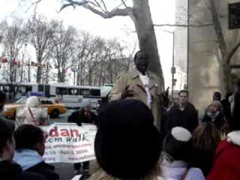 Sudan Freedom Wak Simon Deng's Full Remarks VIDEO