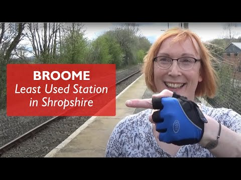 Broome - Least Used Station In Shropshire