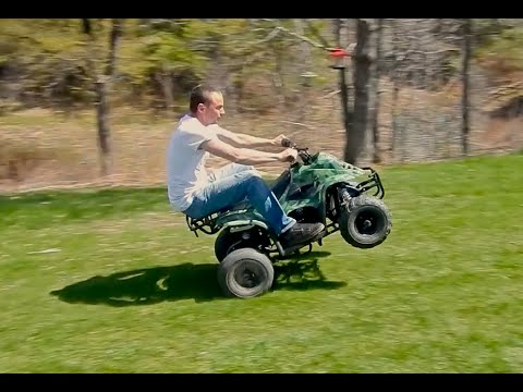 110cc Chinese ATV Review - YouTube