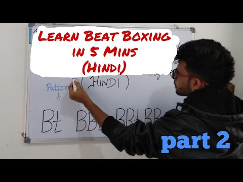 Beat Boxing tutorial for Beginners | Part 2| K snare in 5 mins  in Hindi |B BK B B K