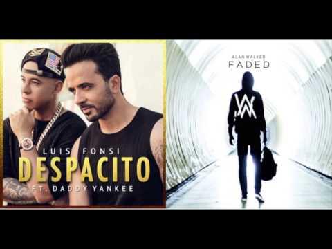 Despacito x Faded (Mashup) - Luis Fonsi ft. Daddy Yankee, Alan Walker Remix