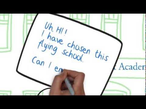 Get Accepted Into Flying School