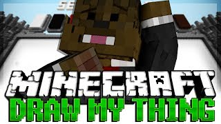 WHALES Minecraft Draw My Thing Minigame w/ AshleyMariee and Vikkstar