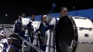 Westlake Marching Band - Drumline Bass Solo 11 06 2015