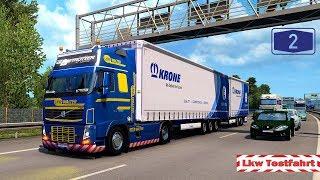 ETS2 Lkw-Testfahrt: Megaliner auf der A2 [ETS2 1.36 Beta] 🚚 [1265] Euro Truck Simulator 2