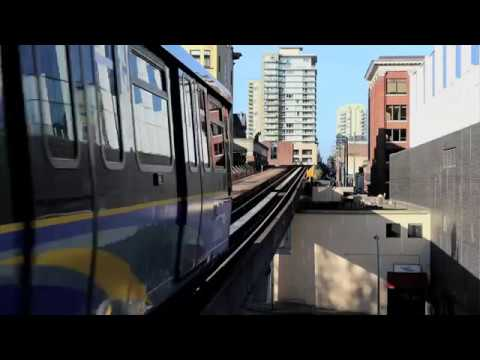 Vancouver Skytrain: Expo Line to Production Way - University