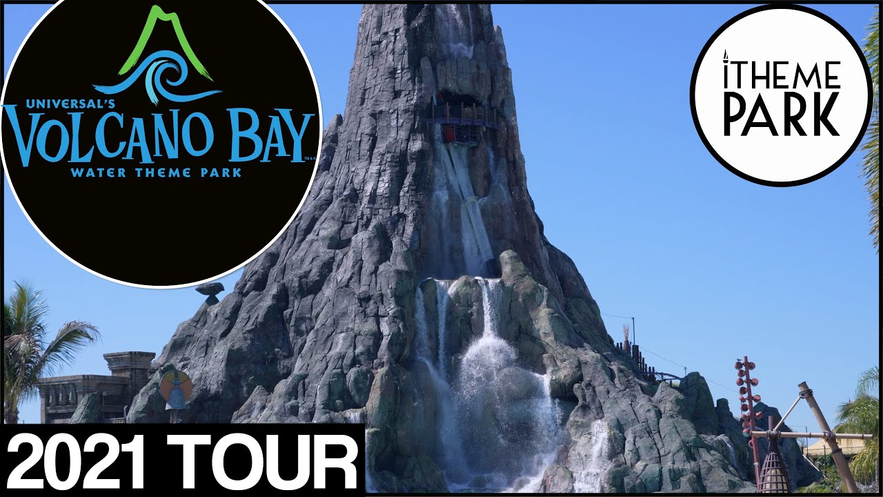 Volcano Bay 2021 4K Tour and Overview | Universal Orlando Themed Water Park Detailed Tour Florida